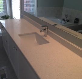 Bathroom Countertop with Undermount Sink